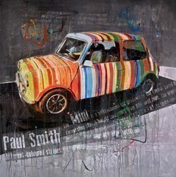 Mini (Paul Smith) by Markus Haub -  sized 47x47 inches. Available from Whitewall Galleries